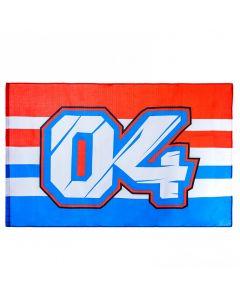 Andrea Dovizioso AD04 zastava 140x90