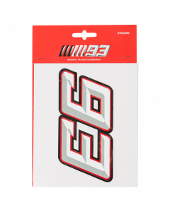 Marc Marquez MM93 Aufkleber