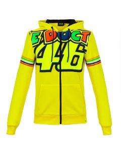 Valentino Rossi VR46 Stripes zip majica sa kapuljačom (VRMFL305301)