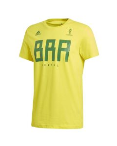 Brasilien Adidas FIFA World Cup Russia 2018 T-Shirt (CW1986)