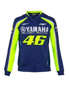 Valentino Rossi VR46 Yamaha zip majica sa kapuljačom (YDMFL314109)
