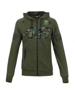 Valentino Rossi VR46 Camp Monster zip majica sa kapuljačom