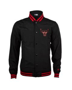 Chicago Bulls New Era Team App Pop Logo Varsity Jacke