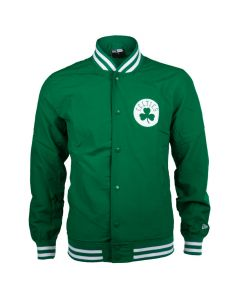 Boston Celtics New Era Team App Pop Logo Varsity Jacke