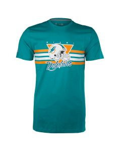 Miami Dolphins New Era Retro Script T-Shirt (11569484)