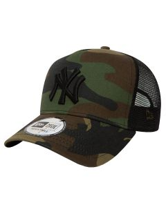 New York Yankees New Era Clean Trucker Camo kapa (11579473)