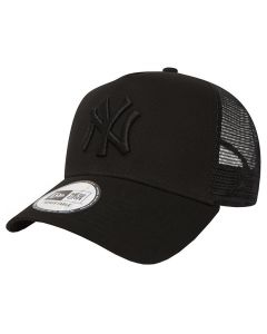 New York Yankees New Era Clean Trucker kapa Black (11579474)
