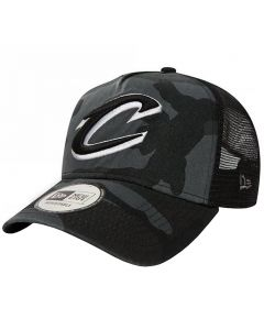 Cleveland Cavaliers New Era Washed Camo Trucker Mütze (80580954)