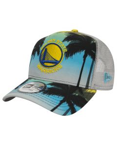 Golden State Warriors New Era Coastal Heat Trucker Mütze (80581162)