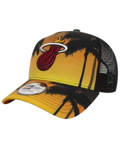 Miami Heat New Era Coastal Heat Trucker kapa (80581163)