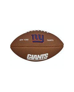 New York Giants Wilson žoga za ameriški nogomet Mini