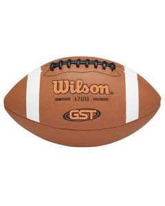 Wilson GST Composite žoga za ameriški nogomet (WTF1780XB)