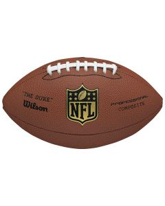 Wilson The Duke Replica NFL Ball für American Football (WTF1825XB)