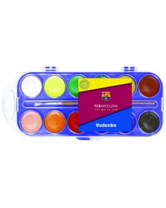 FC Barcelona Wasserfarben