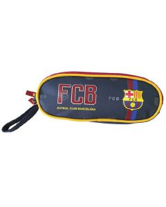 FC Barcelona 2 Zip Oval Federtasche