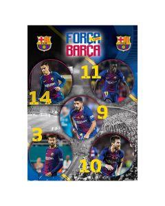 FC Barcelona zvezek A4/OC/54L/80GR 1