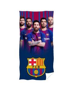 FC Barcelona Badetuch Spieler 140x70
