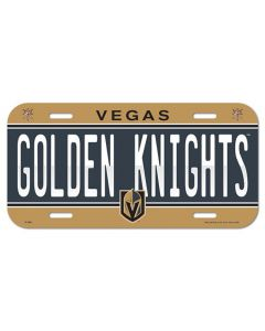 Vegas Golden Knights avto tablica
