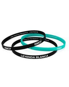 Real Madrid 3x Kinder Silikon Armband RMCF