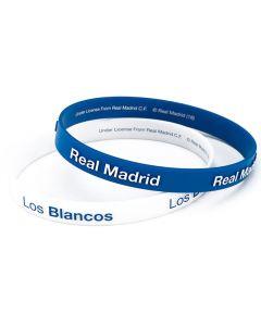 Real Madrid 2x Silikon Armband Los Blancos
