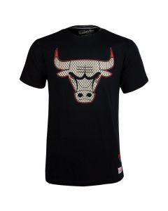 Chicago Bulls Mitchell & Ness Gold Logo T-Shirt