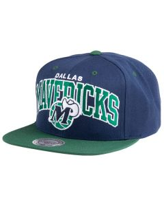 Dallas Mavericks Mitchell & Ness Current Team Arch Mütze