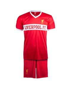 Liverpool V-Neck Panel Kinder Training Komplet Set