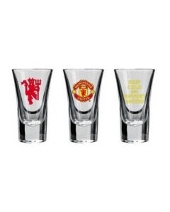 Manchester United 3x čašice za piće