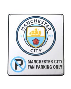 Manchester City No Parking Schild