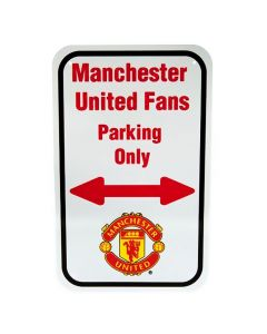 Manchester United No Parking Schild