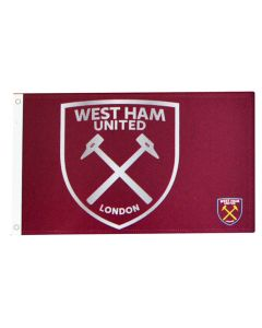West Ham United Team React Fahne Flagge 152x91