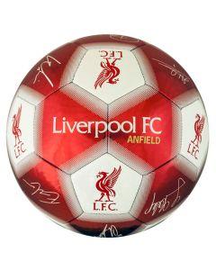 Liverpool Ball mit Unterschriften