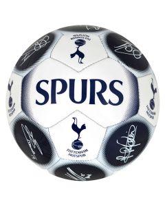 Tottenham Hotspur Ball mit Unterschriften