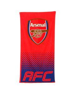 Arsenal Fade Badetuch 70x140