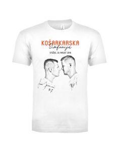 Podpisana muška majica Košarkarske simfonije