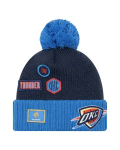 Oklahoma City Thunder New Era 2018 NBA Draft Wintermütze