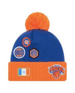 New York Knicks New Era 2018 NBA Draft zimska kapa