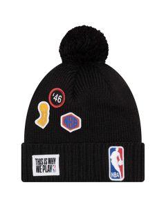 NBA logo New Era 2018 NBA Draft zimska kapa