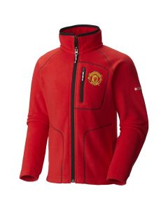 Manchester United Columbia Fast Trek Kinder Fleece Jacke