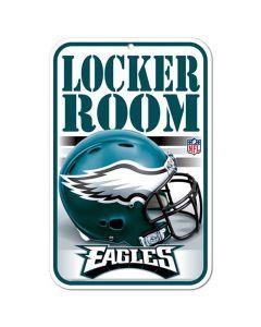 Philadelphia Eagles Schild Locker Room