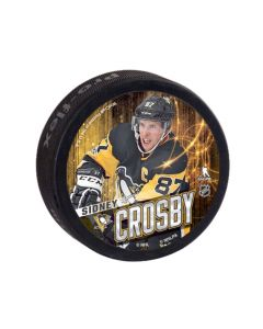 Pittsburgh Penguins Souvenir Puck Sidney Crosby