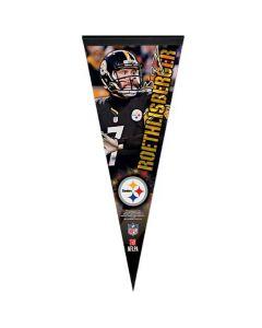 Pittsburgh Steelers Premium kleine Fahne Ben Roethlisberger