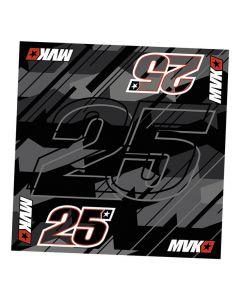 Maverick Vinales MV25 ovratna ruta 50x50