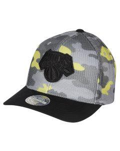 New York Knicks Mitchell & Ness Flou Camo Flexfit 110 kapa
