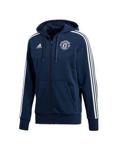 Manchester United Adidas Track Kapuzenjacke