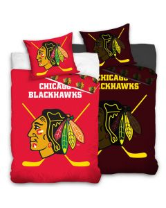 Chicago Blackhawks Glow In The Dark Bettwäsche 140x200