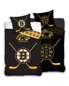 Boston Bruins Glow In The Dark Bettwäsche 140x200