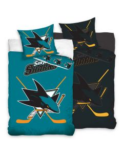 San Jose Sharks Glow In The Dark posteljnina 140x200