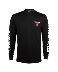 Chicago Bulls New Era Team Apparel T-Shirt langarm