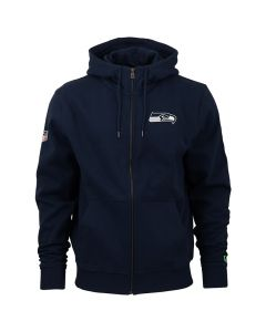 Seattle Seahawks New Era Team Apparel Number Kapuzenjacke